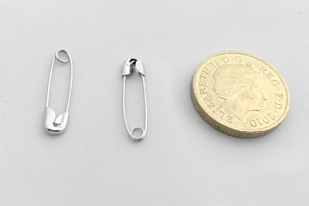 Safety Pins - 22mm